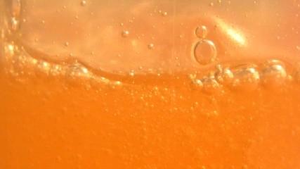 bubbles in liquid