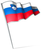 Flag pin - Slovenia