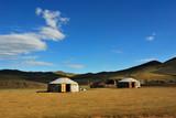 Fototapety Mongolisches Nomaden Ger