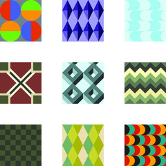 Geometric Patterns Set 3