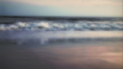 Romantic Sunrise Beach Waves (1007)