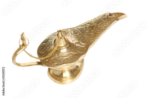 Genie lamp - symbol of the rapid success