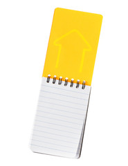 Notebook yellow color