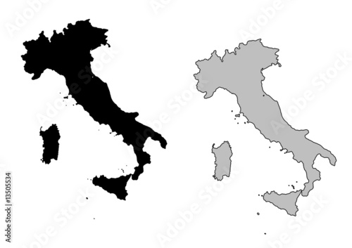 Italy+map+outline
