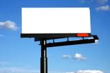 blank advertisement billboard poster