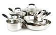 Stainless steel pots and pans - 13519740