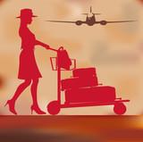 Vintage Travel Flyer poster