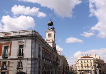 La Puerta del Sol, Madrid