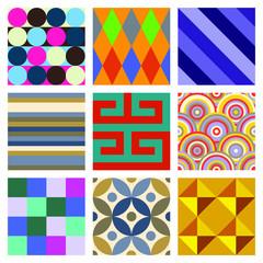 Geometric Patterns Set 4