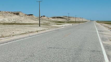 Sur la route (caméra subjective)