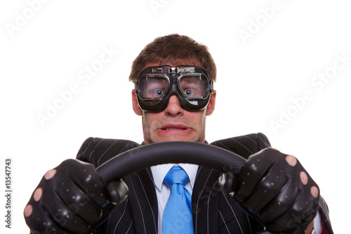 Scared driver - 13547743