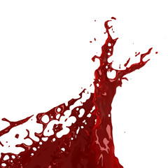 bloody splash