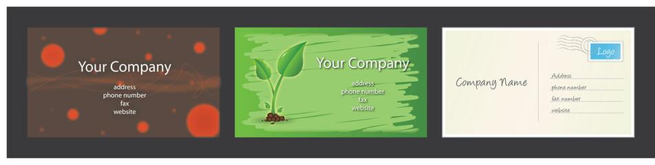 Business Card Set 3