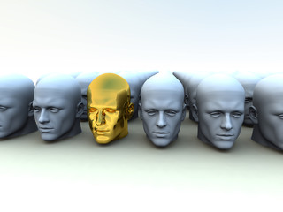 Different Head 5
