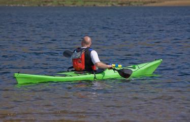 male canoe