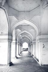 Historic Quli Qutb Shahi tombs in Hyderabad India