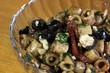 Greek Pasta Salad in a Bowl