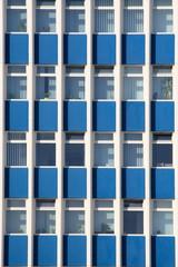 Fenstereihe, Gebäudefassade, Hochhaus, Deutschland