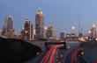 Midtown Atlanta at Sunset