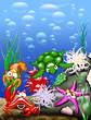 roleta: Animali Mare-Sea Animals-Animaux Mer