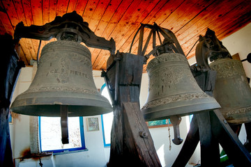 church age-old bronze bell