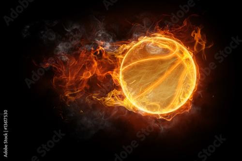 Papiers peints Flamme flamy symbol