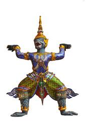 caryatide (architectural support),Grand Palace, Bangkok