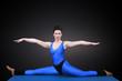 Yoga Spagat frontansicht