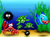Animali Mare-Sea Animals-Animaux Mer 2-