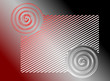 Vector background red-grey.
