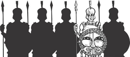 Phalanx of Greeks
