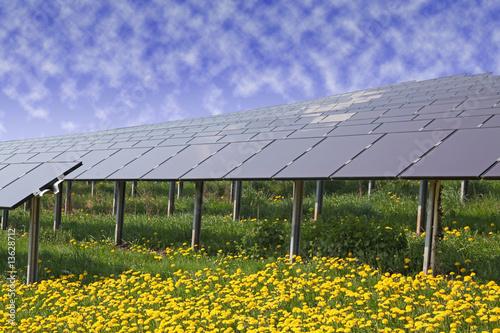 Solar Solaranlage Solarzellen