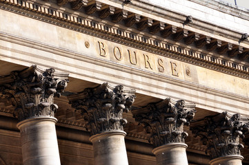 palais Brongniart Bourse de Paris