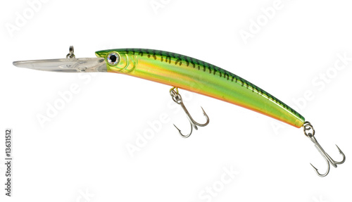 Isolated Fishing Lure