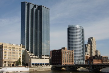 View of downtown Grand Rapids, MI