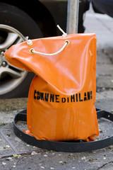 Sacchetto arancione