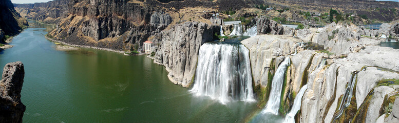 Shoshone Falls Panorama