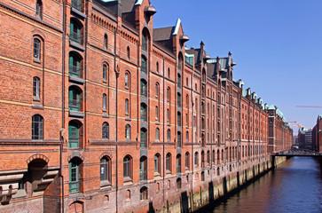 Speicherstadt Hamburg am Kehrwiedersteg