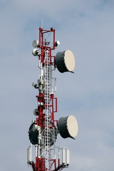 Microwave radio relay