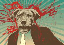 Zbiornik pies utrzymanie go gangsta.