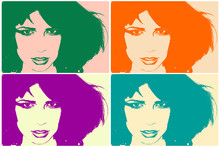 portrait pop art
