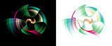 Filigrane Spiralen