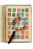 Postage Stamp Collection poster