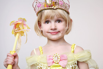 Cute little princess.