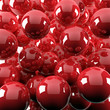 red shiny balls - 13663559