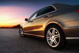 Fototapety Rear-side view of car