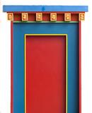 porte culte religion temple bouddhisme bouddha tori message espr poster