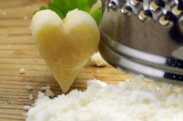 Amare il formaggio grana