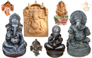 Indian Lord Ganesh - Hindu God Sculpture & Statues