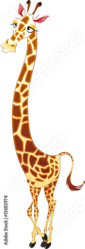 Giraffe, cartoon character